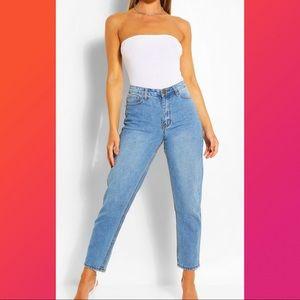 Mid-Rise Vintage awash Mom Jeans 👖